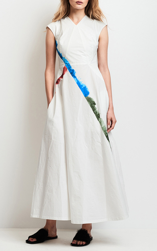 Short Sleeve Water Colored Dress by TOMAS MAIER for Preorder on Moda Operandi