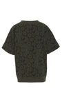 Tropical Floral Short Sleeve Top by TOMAS MAIER for Preorder on Moda Operandi