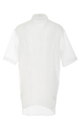 Short Sleeve Mesh Button Up Top by TOMAS MAIER for Preorder on Moda Operandi