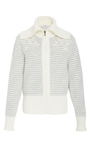 Striped Knit Floral Jacket by TOMAS MAIER for Preorder on Moda Operandi