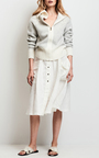 Knee Length A Line Skirt by TOMAS MAIER for Preorder on Moda Operandi