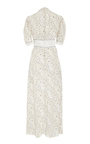 Short Sleeve Floral Plunging V Neck Dress by TOMAS MAIER for Preorder on Moda Operandi