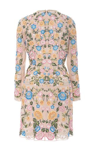 Lace Foliage Mini Dress by NEEDLE & THREAD for Preorder on Moda Operandi