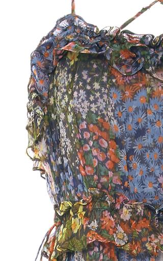 Flowerbed Maxi Dress by NEEDLE & THREAD for Preorder on Moda Operandi