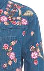 Wild Flower Shirt by NEEDLE & THREAD for Preorder on Moda Operandi