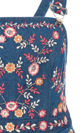 Hawaiian Jumper Dress by NEEDLE & THREAD for Preorder on Moda Operandi