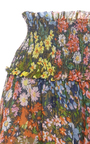 Flowerbed Mini Skirt by NEEDLE & THREAD for Preorder on Moda Operandi