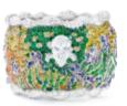 Van Gogh Collection   Van Gogh Iris Cuff by ANNA HU HAUTE JOAILLERIE for Preorder on Moda Operandi