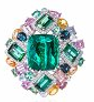 Waltz Collection   Waltz Ring In Green Tourmaline by ANNA HU HAUTE JOAILLERIE for Preorder on Moda Operandi