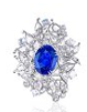 Butterfly Collection   Butterfly Waltz Ring In Sapphire by ANNA HU HAUTE JOAILLERIE for Preorder on Moda Operandi