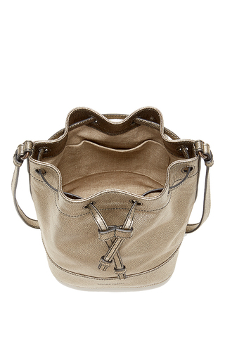 Small Sporty Metallic Bucket Bag by TOMAS MAIER for Preorder on Moda Operandi