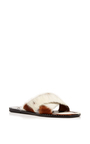 Natural Sherpa Sandal by TOMAS MAIER for Preorder on Moda Operandi