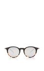 Shiny Black And Havana Sunglasses by TOMAS MAIER for Preorder on Moda Operandi