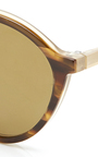 Shiny Melange And Opal Sunglasses by TOMAS MAIER for Preorder on Moda Operandi