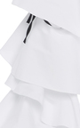 Amalie Ruffle Sleeve Top by CAROLINE CONSTAS for Preorder on Moda Operandi