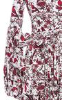 Gisele Tea Length Dress by CAROLINE CONSTAS for Preorder on Moda Operandi
