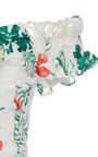 Helena Printed Lace Dress by CAROLINE CONSTAS for Preorder on Moda Operandi