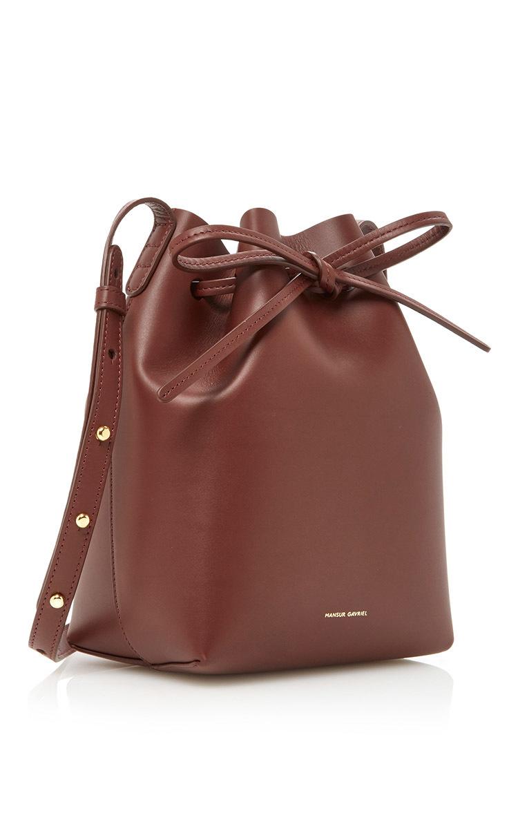3542ece9b8c1 Mansur GavrielCalf Mini Bucket Bag. CLOSE. Loading. Loading