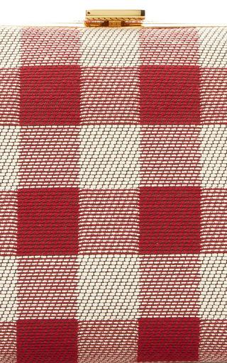 Checker Mini Volume Clutch by MANSUR GAVRIEL for Preorder on Moda Operandi