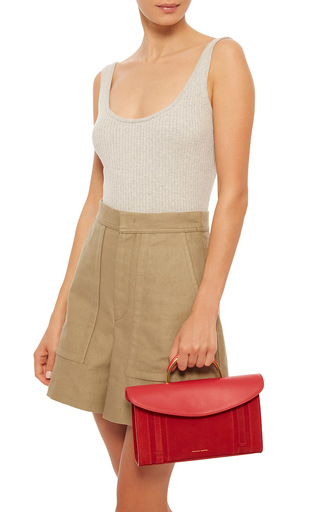 Calf Suede Satchel by MANSUR GAVRIEL for Preorder on Moda Operandi