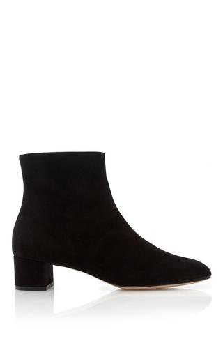 Medium mansur gavriel black suede ankle boot