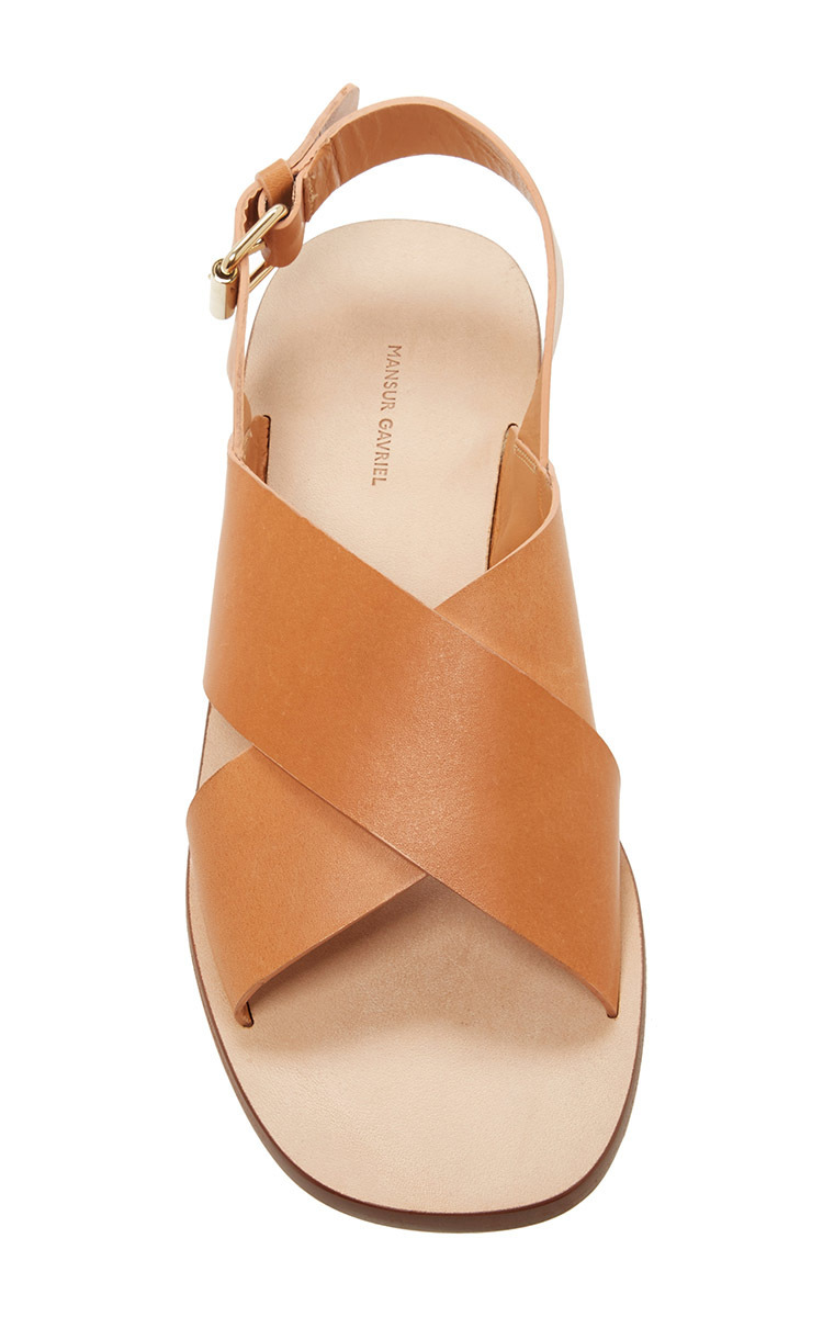 Mansur Gavriel Vegetable tanned sandals di2Jvu