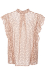 Sharon Lace Flutter Sleeve Blouse by MARISSA WEBB for Preorder on Moda Operandi