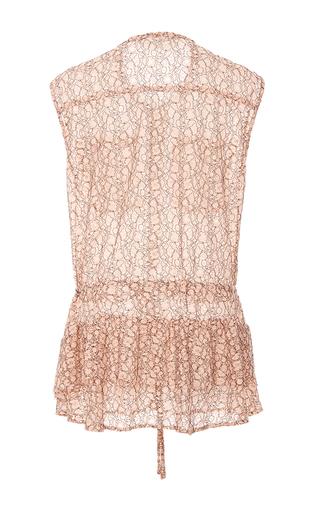 Rania Peplum Lace Blouse by MARISSA WEBB for Preorder on Moda Operandi