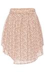 Evie Asymmetric Lace Mini Skirt by MARISSA WEBB for Preorder on Moda Operandi