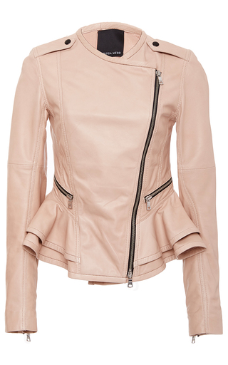 Shane Leather Peplum Jacket by MARISSA WEBB for Preorder on Moda Operandi