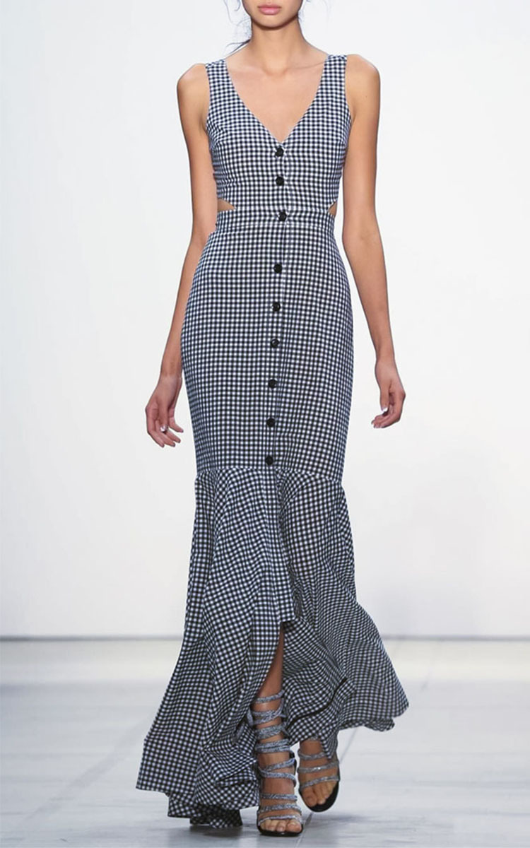 Gingham Maxi Dresses