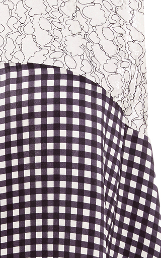 Reed Gingham And Lace Blouse by MARISSA WEBB for Preorder on Moda Operandi