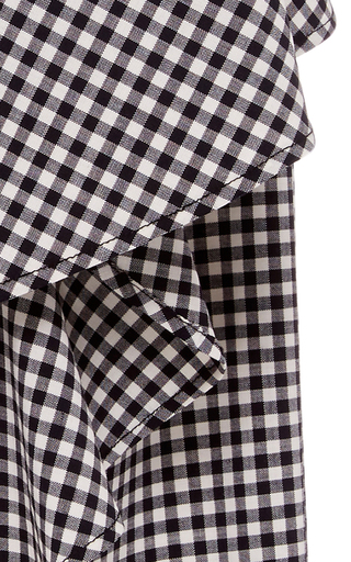 Wanda Gingham Ruffle Skirt by MARISSA WEBB for Preorder on Moda Operandi