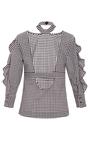 Effy Gingham Collared Blouse by MARISSA WEBB for Preorder on Moda Operandi