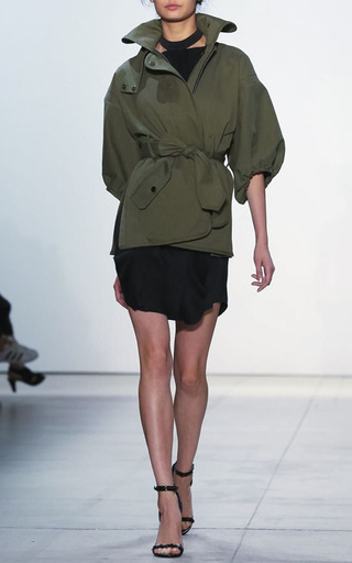 Enya Canvas Balloon Sleeve Jacket by MARISSA WEBB for Preorder on Moda Operandi
