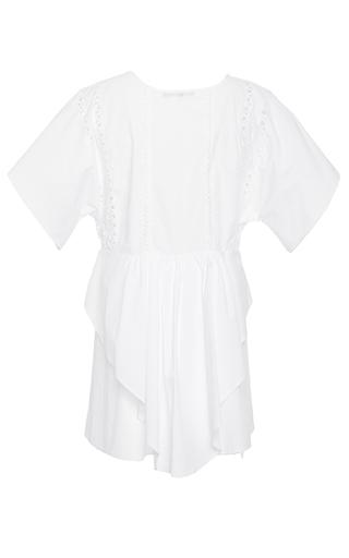 Shona Lace Up Mini Dress by MARISSA WEBB for Preorder on Moda Operandi