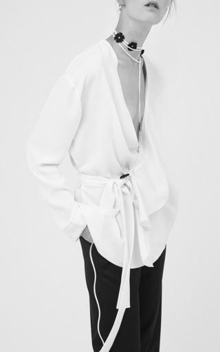 Josephine Wrap Tie Jacket by SACHIN & BABI for Preorder on Moda Operandi