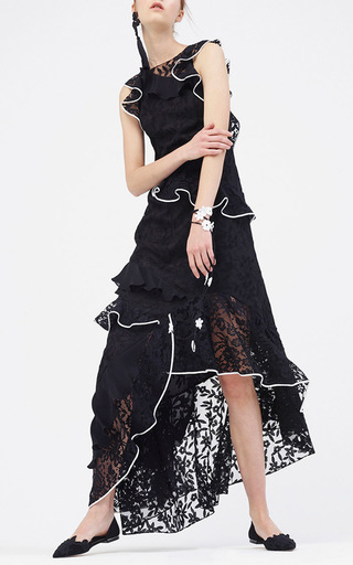 Harmony Lace Gown by SACHIN & BABI for Preorder on Moda Operandi
