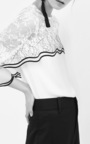 Saute Wave Lace Top by SACHIN & BABI for Preorder on Moda Operandi