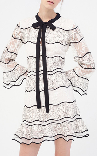 Slipper Lace Mini Dress by SACHIN & BABI for Preorder on Moda Operandi