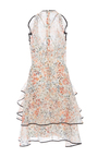 Sylphide Floral Print Ruffle Dress by SACHIN & BABI for Preorder on Moda Operandi