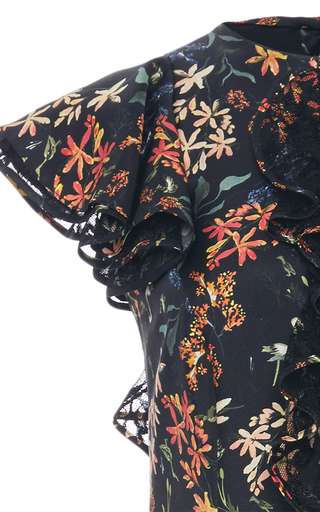 Tutu Floral Print Ruffle Dress by SACHIN & BABI for Preorder on Moda Operandi