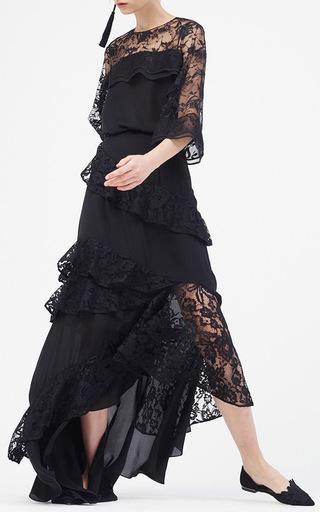 Pas Wave Lace Top by SACHIN & BABI for Preorder on Moda Operandi
