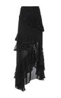 Plie Asymmetric Ruffle Skirt by SACHIN & BABI for Preorder on Moda Operandi