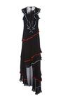 Hermia Sleeveless Asymmetric Gown by SACHIN & BABI for Preorder on Moda Operandi