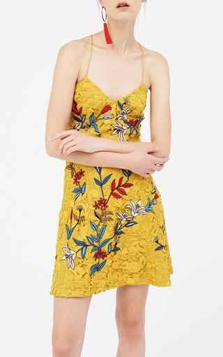 Covent Embroidered Lace Mini Dress by SACHIN & BABI for Preorder on Moda Operandi