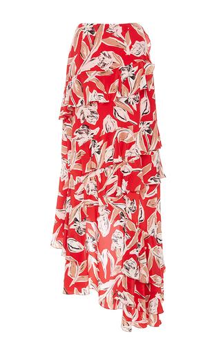 Manhattan Asymmetric Ruffle Skirt by SACHIN & BABI for Preorder on Moda Operandi