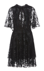 Onassis A Line Lace Dress by SACHIN & BABI for Preorder on Moda Operandi