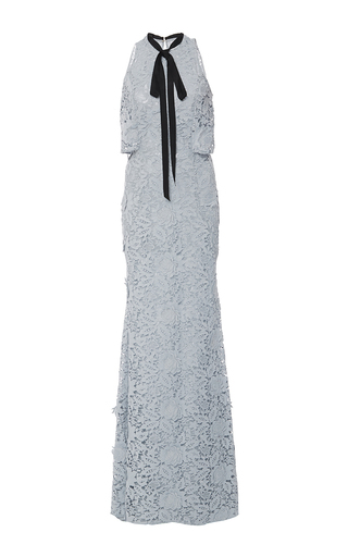 Nina Fitted Cut Out Gown by SACHIN & BABI for Preorder on Moda Operandi