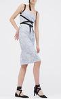 Nutcracker Ribbon Detail Lace Dress by SACHIN & BABI for Preorder on Moda Operandi